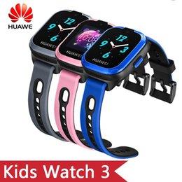 $enCountryForm.capitalKeyWord Australia - Original HuaWei Kids Smart band 3 With 2G Network WiFi Bluetooth GPS 0.3M Camera 1.3 inch TFT Touchscreen SOS Call Voice Assistant