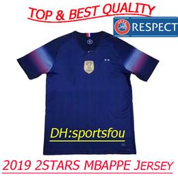 e7523c8a7 Thailand national team 2019 soccer jerseys france 2 stars pogba PAYET  MBAPPE jersey GRIEZMA KANTE 2018 World Cup jerseys football shirts