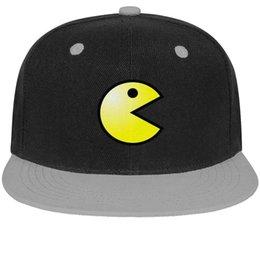 $enCountryForm.capitalKeyWord NZ - Game Pac-Man logo Unisex Men's Hat Women Cap Trendy Cotton Snapback Flatbrim Athletic Hats Baseball Cap for Women