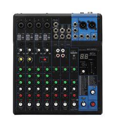 Горячая распродажа 10 каналов 48 В фантомное питание SPX цифровой мультиэффект-процессор аудио микшер MG10XU