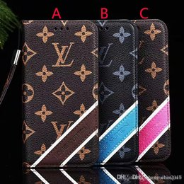 Wholesale Printed letter flip wallet case leather phone case cover for iphone Xs max Xr X plus plus plus with card slot