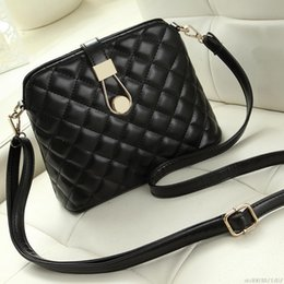 bd21f7167dbb good quality Brand Small Shell Diamond Sling Bag Ladies Fashion Shoulder Bag  New Black Messenger Bags Hot Sale Girls Crossbody Tote Bag