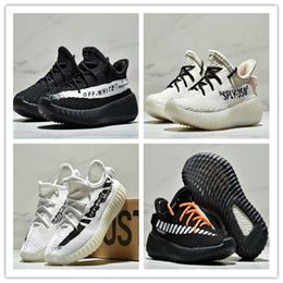 3d7ba0c99 Adidas Yeezy Boost 350 V2 Static kid Running Shoes Off-white 350 v2 3M  Reflective Static youth Shoes size 26-35