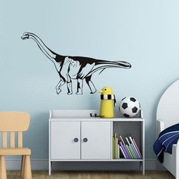 kids dinosaur room decor NZ - High Quality Dinosaur Stick On DIY Wall Sticker For Kids Rooms Hollow Out Removable Vinyl Decals Posters Wall Art Home Decor