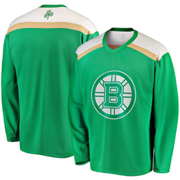 d16307068 Green 2019 St. Patrick s Day Jersey 13 Charlie Coyle 90 Marcus Johansson 63  Brad Marchand 14 Chris Wagner Boston Bruins Hockey Jerseys