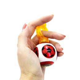 Finger skateboard games online shopping - Magneto Sphere Ball with Bearings Dazzling Light Battle Game Ball with Power Ring Magnetic Finger Induction Balls Finger Toy GGA1433
