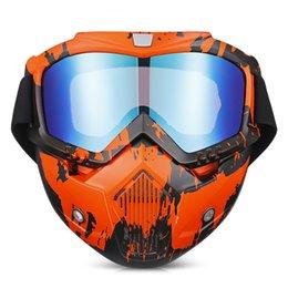 $enCountryForm.capitalKeyWord Australia - Motorcycle Goggles Full Face Mask Windproof Glasses ATV Off Road Dirt Bike DustProof Racing Goggles Motorcycle Protective Gears