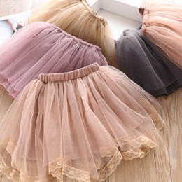 little girl skirt fashion Australia - 5color Girls Skirts Fashion lace Tutu Skirts kids designer clothes girls Ballet Tutu skirts princess dress little girls clothing A7832