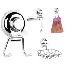 $enCountryForm.capitalKeyWord NZ - Removable Vacuum Suction Cup Hook Stainless Steel Swivel Double Wall Hook Bathroom Kitchen Holder Hanger for Towel key hanger