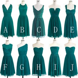 $enCountryForm.capitalKeyWord NZ - Aqua Blue Styles Available Bridesmaids Dresses Empire Maid Of Honor Gowns Short Ruched Girls Formal Evening Party Vestidoes New Cheap 2019