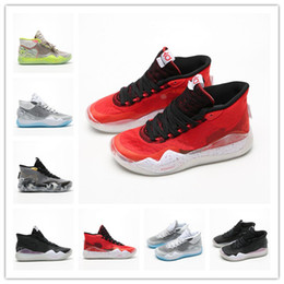 factory athletic sport shoes Australia - high quality Mens KD12 EP Basketball Shoes Mens 12s Zapatillas male Sports Chaussures Man's Sneaker Athletic Sport Shoes Factory online