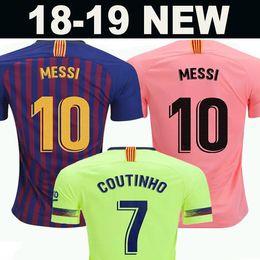 64764f9f5 10 Messi Barcelona Soccer Jersey 2019 Men Women Kids kits 8 Iniesta 9  Suárez 26 MALCOM 11 Dembele 14 7 Coutinho Football uniforms shirts