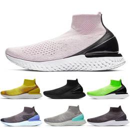 $enCountryForm.capitalKeyWord NZ - Limited Discount Rise React Women Mens Sock Shoes Triple Black Volt Vast Grey Pink Purple Boots Designer Casual Shoes Sock Trainers NIK