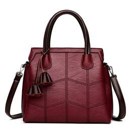 China High Quality Leather Shoulder Bag Bolsas Feminina Lady Handbags Casual Large Capacity Women Tote Bag Sac A Main suppliers