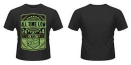 $enCountryForm.capitalKeyWord NZ - Neu Offiziell All Time Low - War Press T-Shirt Personality 2018 Brand ,T Shirt Top Tees,Short Sleeve Tops Tee