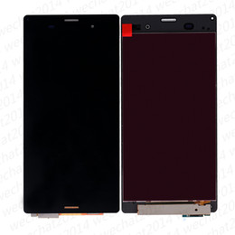 sony z3 digitizer NZ - LCD Display Touch Screen Digitizer Assembly Replacement Parts for Sony Z3 D6603 D6633 D6653 L55T Z3 Compact Z3 mini D5803 D5833