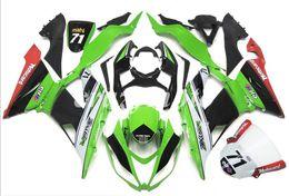 $enCountryForm.capitalKeyWord Canada - 4Gifts New Injection ABS motorcycle fairings kits fit for kawasaki Ninja ZX6R 636 2013-2016 ZX-6R 13 14 15 16 set custom green red white