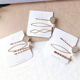 $enCountryForm.capitalKeyWord NZ - Pearl Metal Hair Clip Hairband Comb Bobby Pin Barrette Hairpin Headdress Accessories Beauty Styling Tools New Arrival