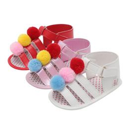 $enCountryForm.capitalKeyWord Australia - Summer Baby Girl Princess Sandals Pu Leather Cartoon Cute Shoes Beach Sandals Kids Footwear Baby Toddler Shoes 0-18 Months