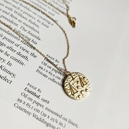 Libra neckLaces online shopping - New arrival popular silver necklace jewelry golden Libra zodiac sign necklace for women and men for gift and daily wearing