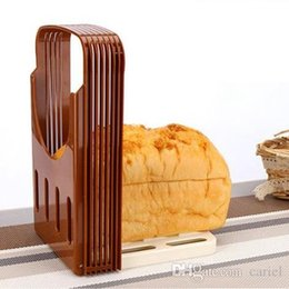 Loaf sLicer online shopping - Cariel Bread Slicing Tools Bread Loaf Toast Sandwich Slicer Cutter Mold Maker bakery and pastry tools kitchen tools H115B PC