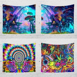 Hand Dyed Bedding Australia - Magic Wall Tapestry Visual 3D Printing Wall Handing Tapestries Cloth Tapestries Bedding Home Decor Art