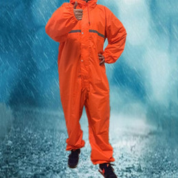 man raincoat motorcycle NZ - 7 Size Overalls Electric Motorcycle Fashion Raincoat Men And Women Rain Suit Rainwear Waterproof Windproof Conjoined Raincoats #319587
