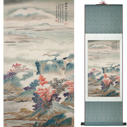 Chinese Floral Paintings Australia - Landscape Art Painting Super Quality Traditional Chinese Art Painting Home Office Decoration Chinese Painting1906101613