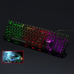 $enCountryForm.capitalKeyWord Australia - Professional Mechanical Receiving For LOL Illuminated Gaming Keyboard RFID Blocking USB Wired Backlight Waterproof Metal