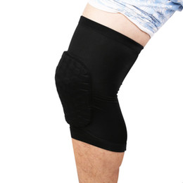 e68d6cf360234 1pcs Adult Elastic Stretch Knee Pad Protective Pads Basketball Leg Knee  Short Sleeve Protector Gear Crashproof Leggings Support