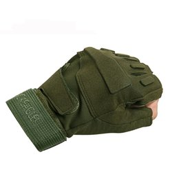 Fitness Fans Australia - Outdoor half finger gloves tactical gloves mountaineering army fan fitness half finger riding rock climbing