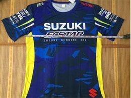 Woman Fans Australia - Free Shipping 2019 NEW MOTO GP for SUZUKI GSX GSXR Motorcycle Riding Team Sports T-shirt for suzuki fans T-shirt L