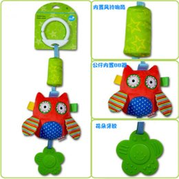 BaBy chime rattles online shopping - Baby Early Educational Toys New Infant Mobile Baby Plush Toy Bed Wind Chimes Rattles Bell Toy Stroller for Newborn Kids Learning Toy
