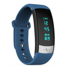 smart watch korean 2019 - Fashion QS03 smart watch waterproof sports electrode ECG heart rate sleep health monitoring Bluetooth information push d