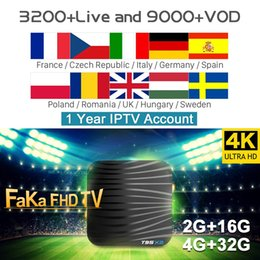 Android Tv Box Portugal Australia - Europe IPTV Box T95X2 Smart Android 8.1 Tv Box Full HD IPTV France Arabic Canada Spain Portugal UK Italy Albania IPTV Subscription