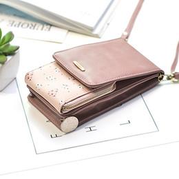 $enCountryForm.capitalKeyWord Australia - New Fashion Flowers Women Messenger Bags Large Capacity Phone Money Purses Hasp Coin Zipper Wallet Card Bag Lady Shoulder Bags