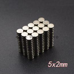 Neodymium Magnets 5mm Discs Australia - 10pcs Neodymium Disc Magnets 5x2 mm N35 Super Strong Powerful Rare Earth 5mm x 2mm Small Round Magnet