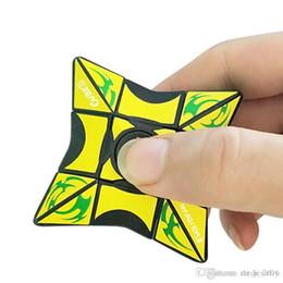 $enCountryForm.capitalKeyWord Australia - Cube Spinner Fidget Cubes Spinning Magic Cube EDC Anti-stress Rotation Spinners Fidget Spinners Decompression Novelty Toys for Kids