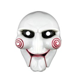 $enCountryForm.capitalKeyWord UK - Halloween party Creepy Saw Latex Halloween gift full mask Scary prop unisex party cosplay supplies Decorations Masks