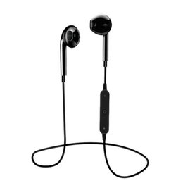 Sports Neckband Wireless Headphones UK - S6 Sport Neckband Wireless Headphone Bluetooth Earphone Headphone For Phone with Mic Earphone For iPhone Xiaomi HUawei