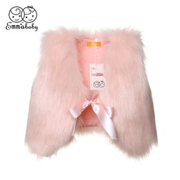 $enCountryForm.capitalKeyWord Australia - USA Winter Kids Girls Faux Fur Vest Baby Waistcoat Girl Xmas Coat Outwear Jacket