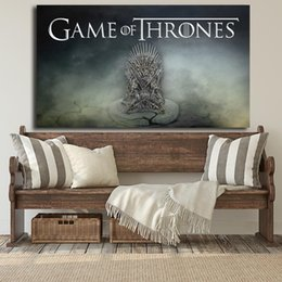 Chinese  A Song Of Ice And Fire Game of Thrones Season 8 Canvas Painting Print Bedroom Home Decor Modern Wall Art Oil Painting Poster Artwork manufacturers