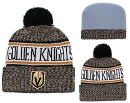 76836357509437 HOT Brand Fashion Adult Men Women Vegas Golden Knights Winter Hats Soft  Warm Beanie Caps Crochet Elasticity Knit Casual Warmer Beanies 07