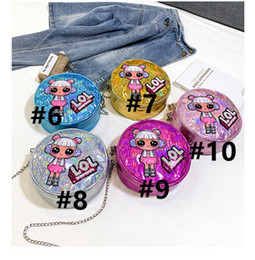 $enCountryForm.capitalKeyWord Australia - Surprise Girls Laser Chain Single Shoulder Bags Party Outdoor Travel Storage Mobile Phone bag Cartoon Purse Crossboy Bag 15 Color B71002