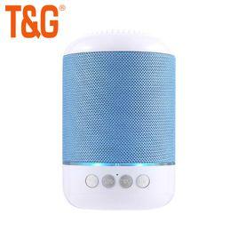Audio Disks Australia - TG115 Wireless Bluetooth Speaker Portable 1200MAH Fabric FM TF card U disk Audio Speaker 50PCS LOT