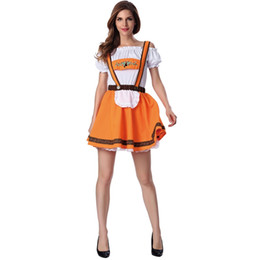 China Oktoberfest Costume Strap Dress Beer Girl Bavaria Carnival Party Fancy Dress Outfit cheap oktoberfest dress suppliers