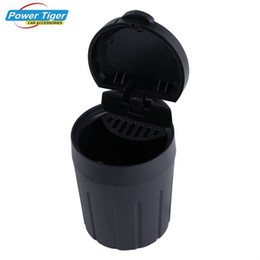 $enCountryForm.capitalKeyWord Australia - 1Pc Car Ashtray Cigarette Smoke Holder Portable Storage Black Trash Bin Dust Garbage For Car Interior Accessories Auto Ashtray
