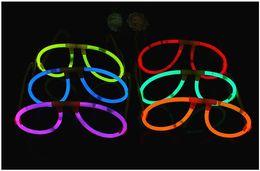$enCountryForm.capitalKeyWord NZ - Glow Sticks Illuminating Glasses Concert Ball Christmas Halloween Light Up Party Tube Cheering Luminous Props Festival Decorative Glow Stick