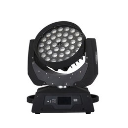 China Stage lighting rgbw led zoom moving head light 4 in1 36*10W for stage party club wedding decoration suppliers