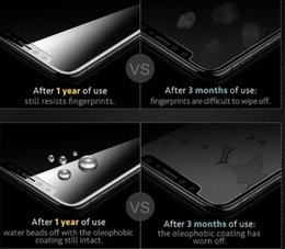 Iphone 5s screen protectIon online shopping - Iphone XR XS MAX PLUS X Tempered Glass Screen Protector for iPhone S Plus Samsung S6 S7 Note screen clear film protection